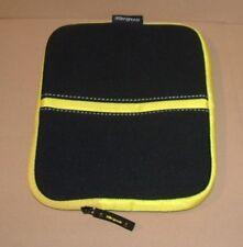 """Targus 10"""" Neoprene ZIP Tablet Case/Cover (Black/Yellow)"""