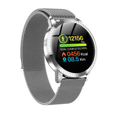 New Smart Watch With Steel Magnet Strap All Notifications for iPhone X XR XS Max