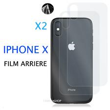 Lot 2 Films de Protection arrière Entier Intégral Pour IPHONE X