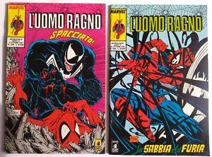 LOTTO UOMO RAGNO STAR COMICS 105 - 106 - VENOM - SPIDER-MAN