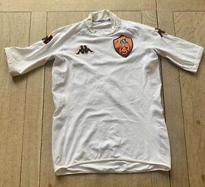 AS Roma Away BATISTUTA Shirt Jersey 2001 Original Kappa. Adults Top Small VGC