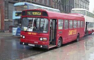 Original colour negative, Cardiff, Leyland National, JBO350N, CMT Buses
