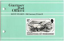 Guernsey 1982 Old Guernsey Prints MNH Presentation Pack #C40468