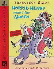 FRANCESCA SIMON HORRID HENRY MEETS THE QUEEN CASSETTE MIRANDA RICHARDSON audiobk