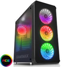 Spiel Max Moonstone RGB Full Tower Gaming Case-Schwarz USB 3.0