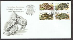 South West Africa (SWA) 1982, Tortoises of SWA on FDC + Description