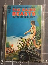 Vintage ACE  Science Fiction The Radio Beasts F-304, Ralph Milne Farley 1964 1st