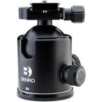Déstockage -35% -BENRO B5 Tête Rotule à friction + Plateau PU85 Capacité 22kg