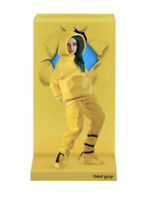 """BILLIE EILISH POSEABLE 10.5"""" FIGURE YELLOW OUTFIT MUSIC VIDEO SERIES BAD GUY NEW"""