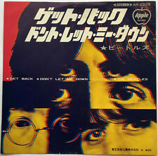 THE BEATLES / GET BACK / JAPAN / APPLE REISSUE 1975