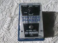 Behringer VP1 vintage phaser pedal ( used)