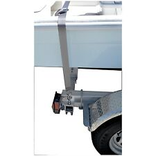 "Boat Marine Trailer Deluxe 2"" Gunwale Tie-Down Strap With S-Hook & Snap Hook 12'"