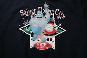 Silver Dollar City Rudolph the Red Nosed Reindeer Christmas Sweatshirt Branson