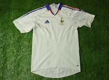 FRANCE NATIONAL TEAM 2004/2006 FOOTBALL SHIRT JERSEY AWAY ADIDAS ORIGINAL SIZE S