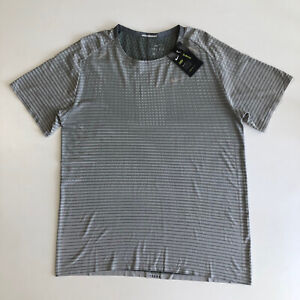 NIKE  Men's TechKnit Ultra Running Shirt Light Gray Sz XL CJ5344-084 $70 NWT