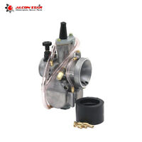 32mm Keihin PWK32 Motorcycle Carburetor 2T/4T Carbs Modified & Power Jet