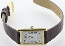 Vintage Baume & Mercier Geneve 14K Yellow Gold Crown Wind-Up Thin Mens Watch