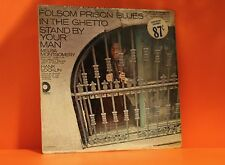 FOLSOM PRISON BLUES - STAND BY YOUR MAN (VARIOUS!!) COUNTRY VINYL LP RECORD (2