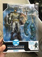 DC Multiverse Batman Sealed McFarlane Toys w/ Merciless BAF Dark Nights Metal