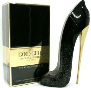 CAROLINA HERRERA GOOD GIRL SUPREME EAU DE PARFUM SPRAY FOR WOMEN 1.7 Oz / 50 ml