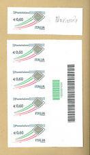 VARIETA' POSTE ITALIANE BUSTA ORO € 0,60  ** CON CODICE A BARRE 1222