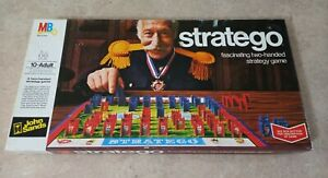 Stratego - Vintage Board Game - Milton Bradley - Complete GC
