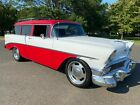 1956 Chevrolet Bel Air/150/210  1956 CHEVROLET 210 2-DR WAGON 454 CI ENGINE A/C & MORE A MUST SEE BUY IT NOW!