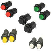 12mm 12V On/Off Moment Push Button Switch Moment Car Dashboard Dash Boat