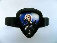 ED SHEERAN  Guitar Pick Silicon Bracelet / Holder with  2 Interchangeable Picks