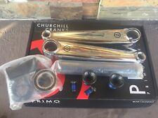 PRIMO BMX STEVIE CHURCHILL CRANKS 165 MM CHROME 24 MM CRANK SET 24MM 165MM