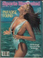 February 10, 1986 Sports Illustrated Magazine Elle Macpherson Swimsuit Issue