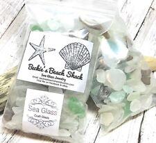 1lb Genuine Sea Glass Craft Mix DIY Mosaic Quality Assorted Colors Bulk Supplies