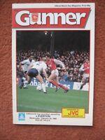 1988 FOOTBALL LEAGUE CUP SEMI FINAL:  ARSENAL v EVERTON