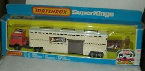 MATCHBOX SUPERKINGS K-8 ANIMAL TRANSPORTER MIB