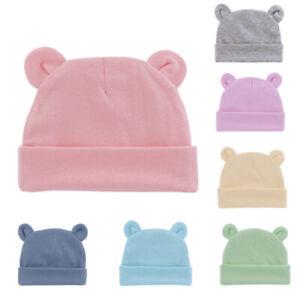 Cute Baby Hat Newborn Beanie Cotton Soft Elastic Baby Cap for Girls Boys Hat