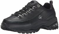 Skechers Womens 1728wnv Low Top Lace Up Walking Shoes, Black, Size 8.5 h6v1