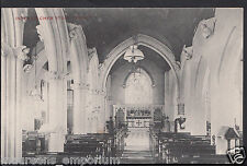 Somerset Postcard - Interior of Chew Stoke Church   RS370