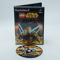 LEGO Star Wars: The Video Game Playstation 2 PS2 Black Label Game No Manual