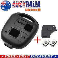 Remote Key Shell Switch Pad For Toyota RAV4 Prado Tarago Corolla Kluger Avensis