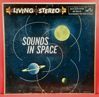 SOUNDS IN SPACE LP 1958 STEREO ORIGINAL KEN NORDINE NICE CONDITION! VG/VG!!