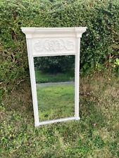 More details for antique regency pier mirror c1820 annie sloan finish acanthus