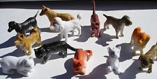 """48 2"""" SMALL  PLASTIC DOGS & CATS TOYS  CARNIVAL OR EDUCATIONAL TOYS. PARTY"""