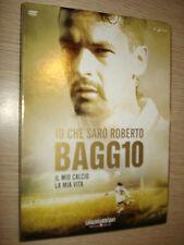 DVD N° 1 IO CHE SARO' SARò ROBERTO BAGGIO IL MIO CALCIO LA MIA VITA