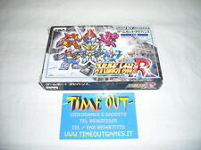 SUPER ROBOT WARS R NINTENDO GBA GAME BOY ADVANCE JAP USATO PERFETTO
