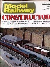 Model Railway Constructor August 1977 - Poulton Le Fylde station - Tr.20