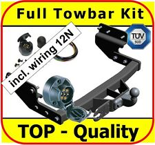 Towbar & Electric 12N VW Transporter T4 Bus Van Caravelle 96-03 Full Towbar Kit