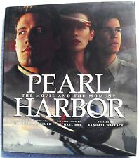 Pearl Harbor The Movie and the Moment Hardcover HC DJ Disney Moviebook WW2 1941