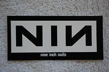Nin Nine Inch Nails Sticker Decal (S14) N.I.N. Rock Goth Car Window Sticker