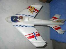 Planeur en matériau ultra léger avec une figurine Playmobil