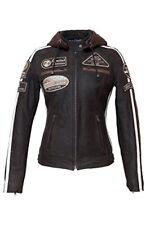 Urban Leather Ur-168 Giacca Moto 58 Donna Marrone Taglia S (g7d)